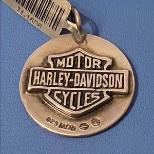 Sterling Silver Harley-Davidson Pendent